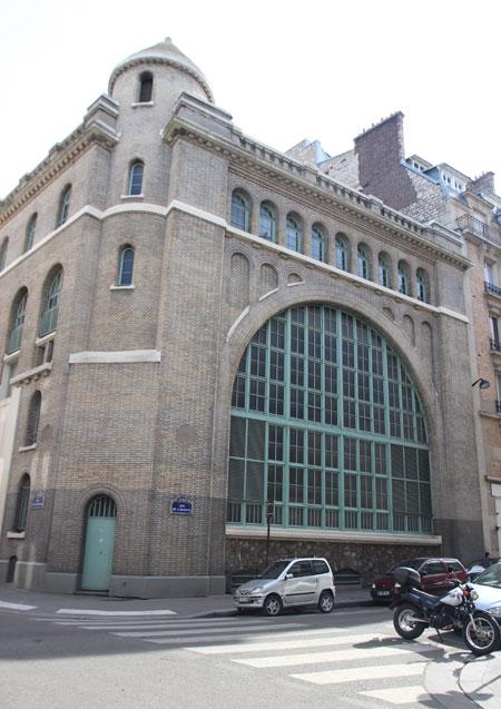 La sous-station électrique Bastille-La Cerisaie