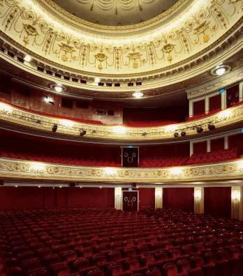Le théâtre Marigny - La salle