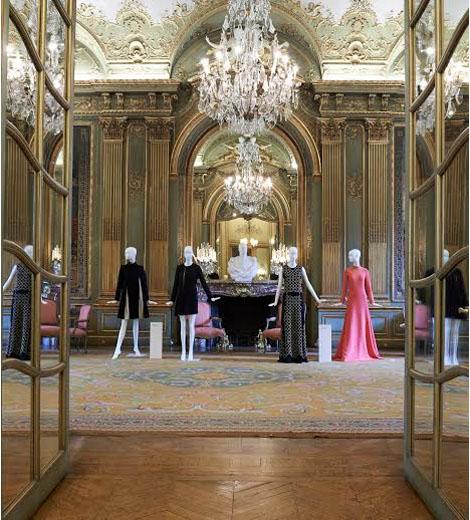 L'hôtel de Wagram - Salon pendant une exposition