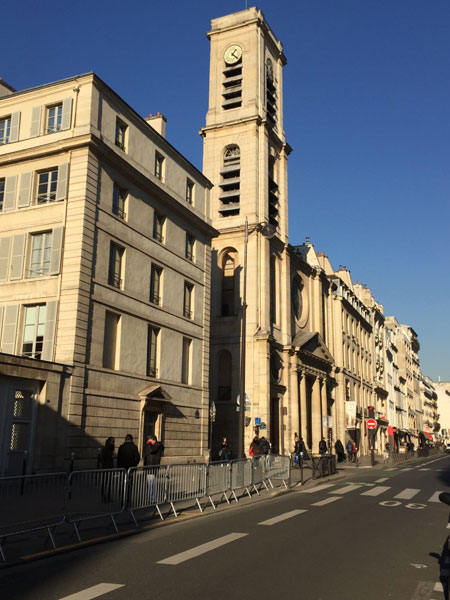 L'église Saint-Jacques du Haut Pas