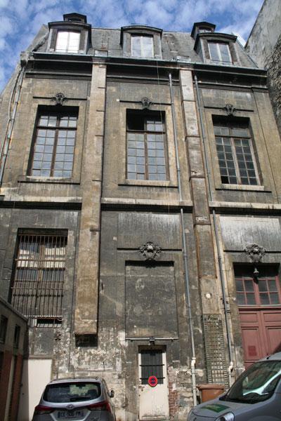 Vestiges de l'hôtel de Nevers - Façade sur cour