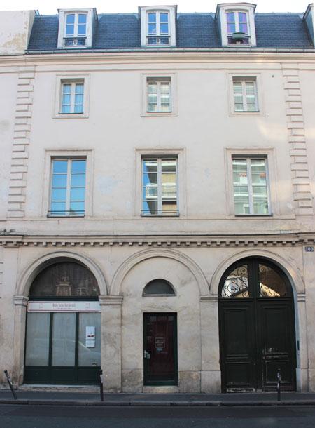 Le couvent de la Madeleine de Traisnel - L'entrée sur rue