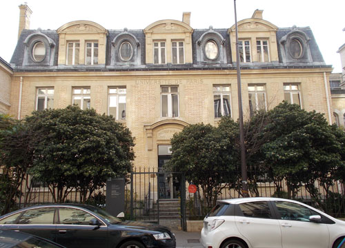 L'Institut du Radium devenu le musée Curie