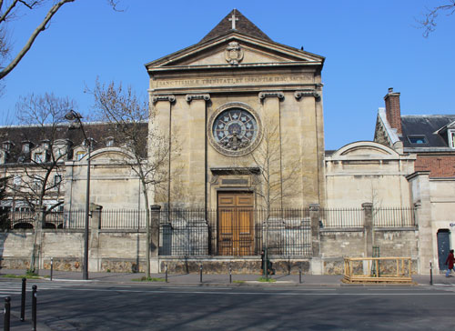Le noviciat des Oratoriens - La chapelle