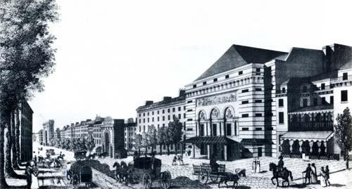 Le théâtre de la porte Saint-Martin au XVIIIe siècle