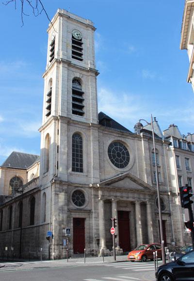 L'église Saint-Jacques du Haut-Pas