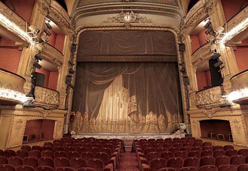 Le théâtre Antoine - La salle