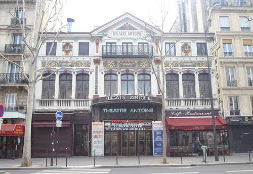Le théâtre Antoine