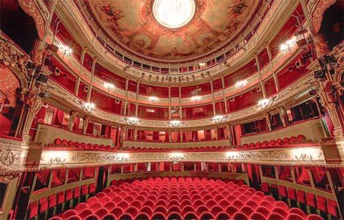 Le théâtre du Gymnase - La salle