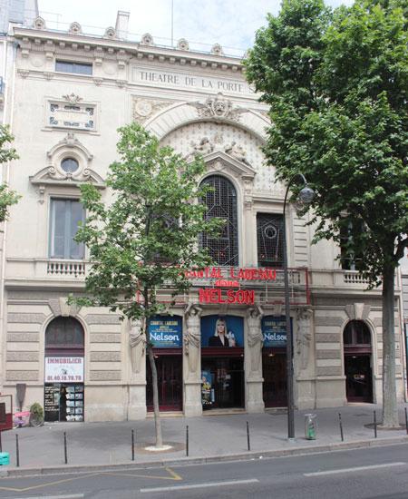 Le théâtre de la porte Saint-Martin - L'édifice bâti au XIXe siècle