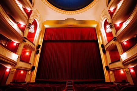 Le théâtre de la porte Saint-Martin - La salle