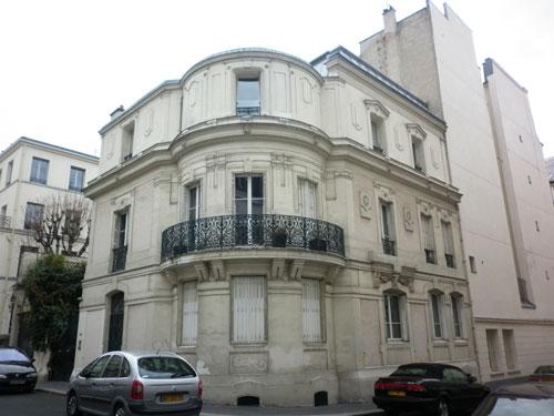 La cité Malesherbes - L'hôtel Amoudru