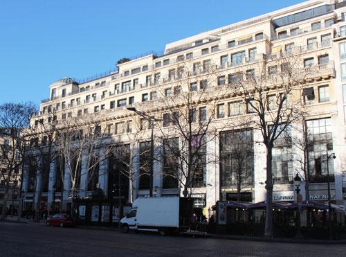 L'immeuble de la First national City Bank