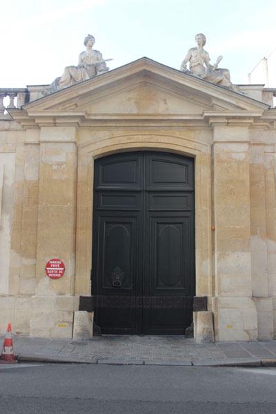 L'hôtel de Brancas - Le portail