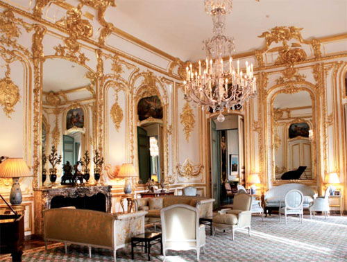L'hôtel de Pontalba - Boiseries du salon Samuel Bernard
