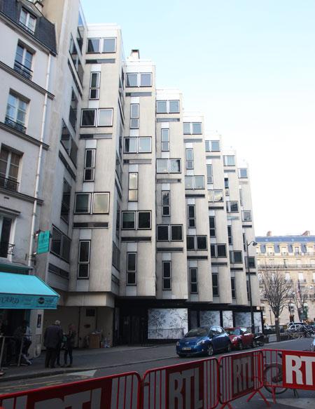 Immeuble de bureaux, rue Bayard