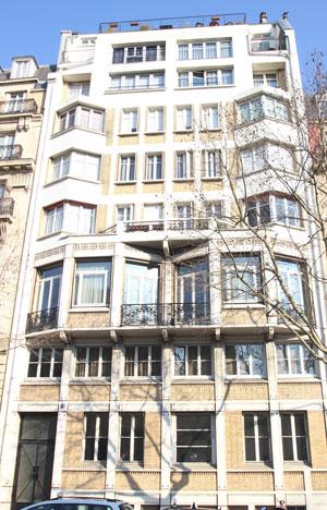 Immeuble d'habitation, boulevard Exelmans