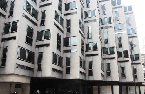 Immeuble de bureaux rue Bayard