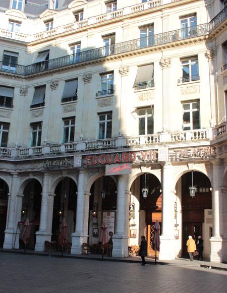 Le théâtre Edouard VII
