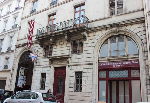 L'Union Chrétienne de Jeunes Gens de Paris - La façade