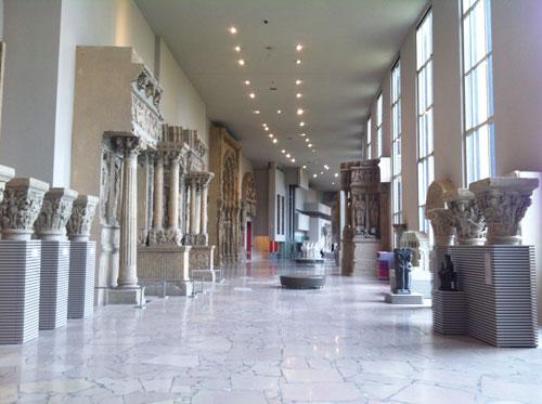 La cité de l'Architecture et du Patrimoine - La galerie des moulages
