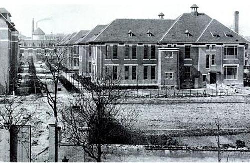 L'hôpital Rothschild - Les bâtiments historiques