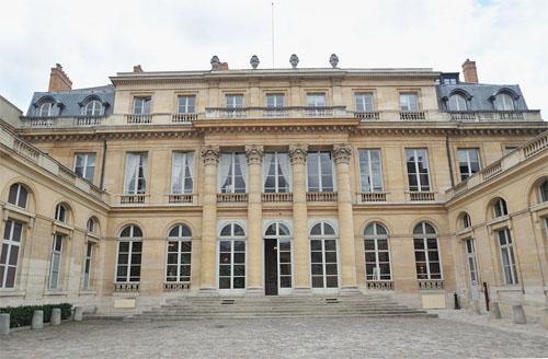 L'hôtel du Châtelet - Façade sur cour