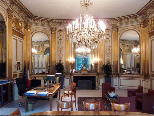 L'hôtel du Châtelet - Le salon de compagnie