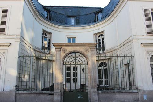 L'hôtel de Melle Duchesnois
