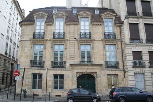 L'hôtel Feydeau de Montholon - Façade sur le quai des Grands Augustins