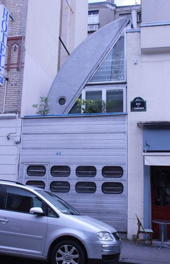 Maison, rue de l'Ermitage