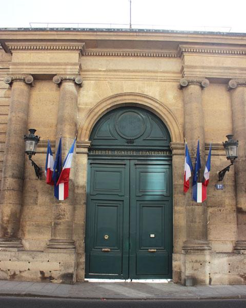 Le Petit Luxembourg - Le portail