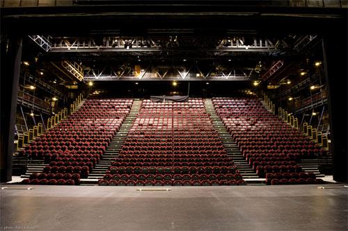 Le théâtre de Chaillot - La salle Jean Vilar