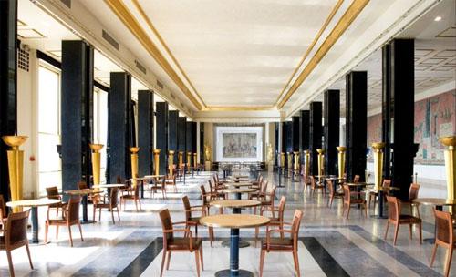 Le théâtre de Chaillot - Le grand foyer