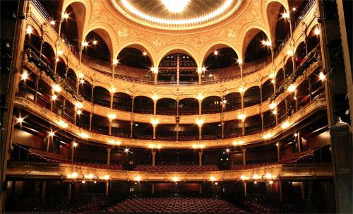 Le théâtre du Châtelet - La salle