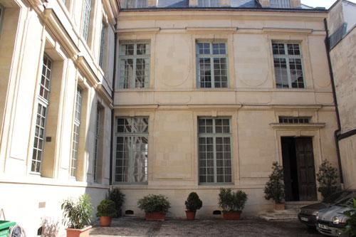 L'hôtel Fieubet - L'aile en fond de cour