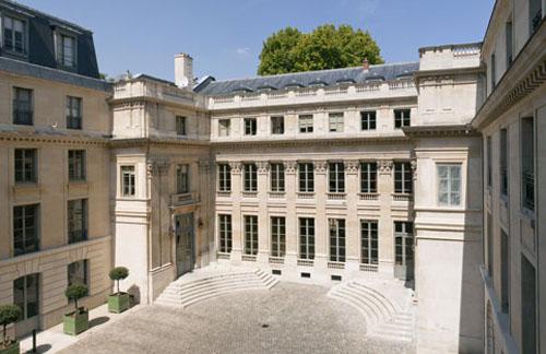 L'hôtel de Rochechouart - Façade sur la cour d'honneur