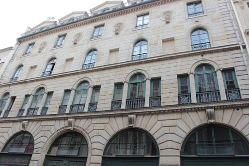 Ancien immeuble de la Banque de France