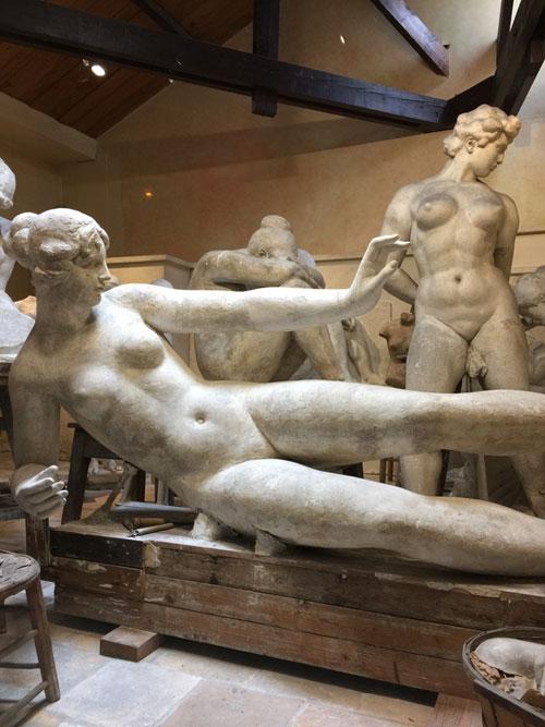 Le musée Maillol : l'atelier des plâtres