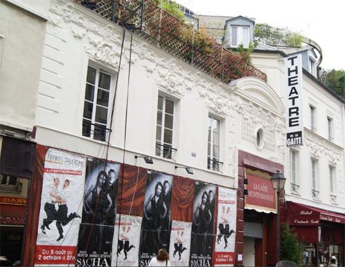 Le théâtre de la Gaîté Montparnasse