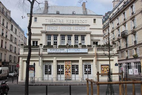Le théâtre Hébertot