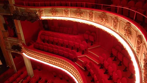 Le théâtre Hébertot - La salle