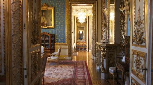 L'hôtel de Monaco - Enfilade des salons