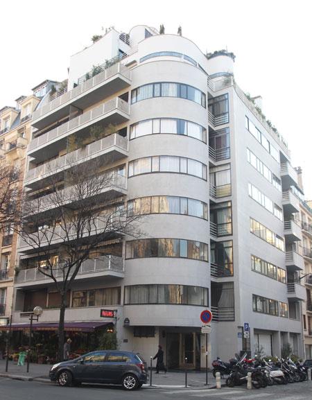 Immeuble d'habitation avenue de Versailles