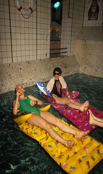 Les Bains Douches : l'ancienne piscine