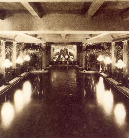 Le Lido - L'ancienne piscine