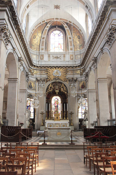 L'église Saint-Louis-en-l'ile - Le chœur