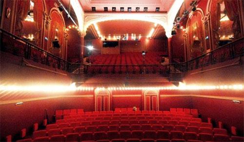 Le théâtre de l'œuvre - La salle