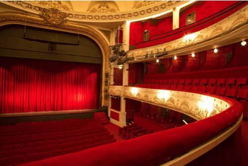 Le théâtre de Paris - La salle