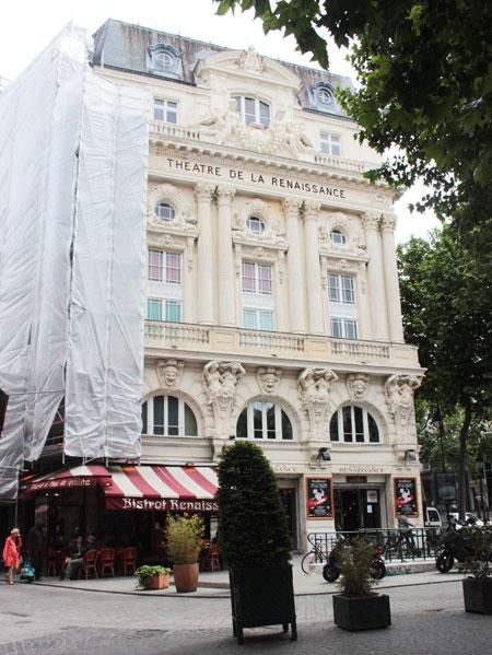Le théâtre de la Renaissance - La façade